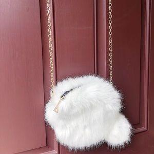 Vintage Fur Crossbody Purse